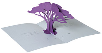 carte pop-up arbre toiny
